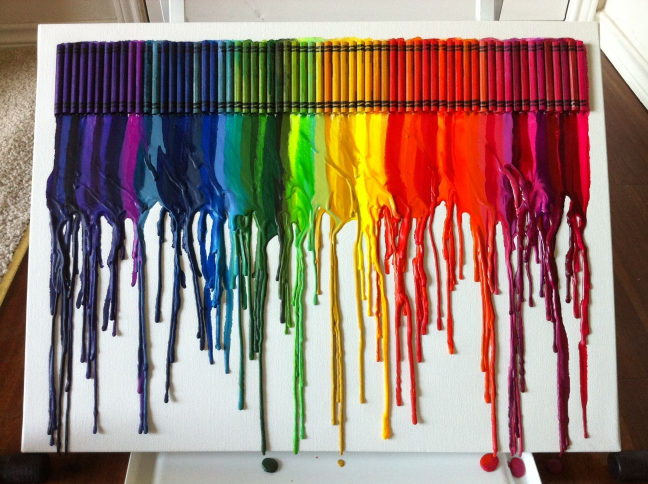 Hair Dryer Or Heat Paint Remover And Crayons Brilliance