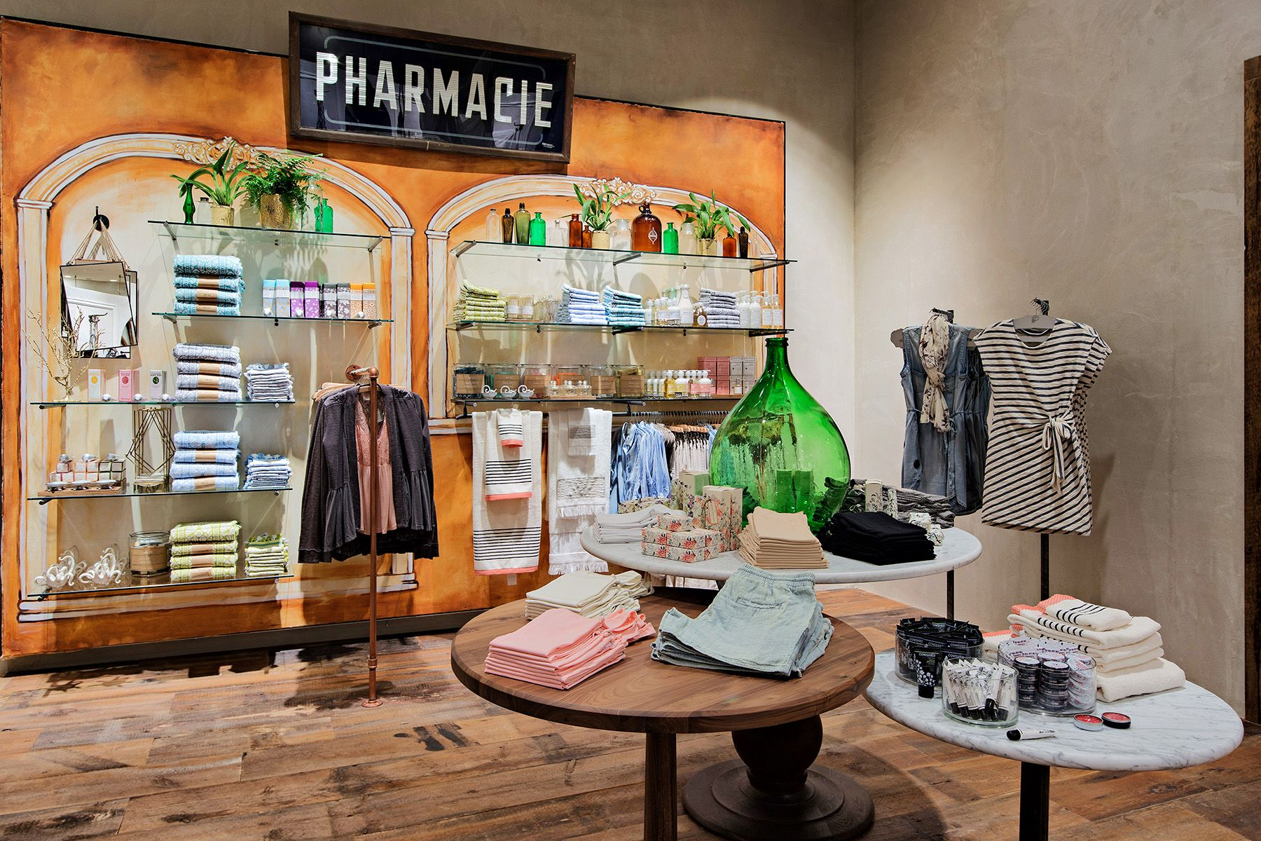 On Assignment Retail Interior Photography Anthropologie Clothing