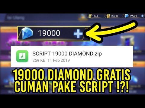 SCRIPT GRATIS 19000 DIAMOND TERBARU MO MoBILE LEGENDS