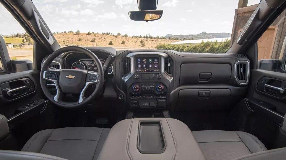 2020 Chevy Silverado 2500hd Interior Boypoe Com Silverado Hd