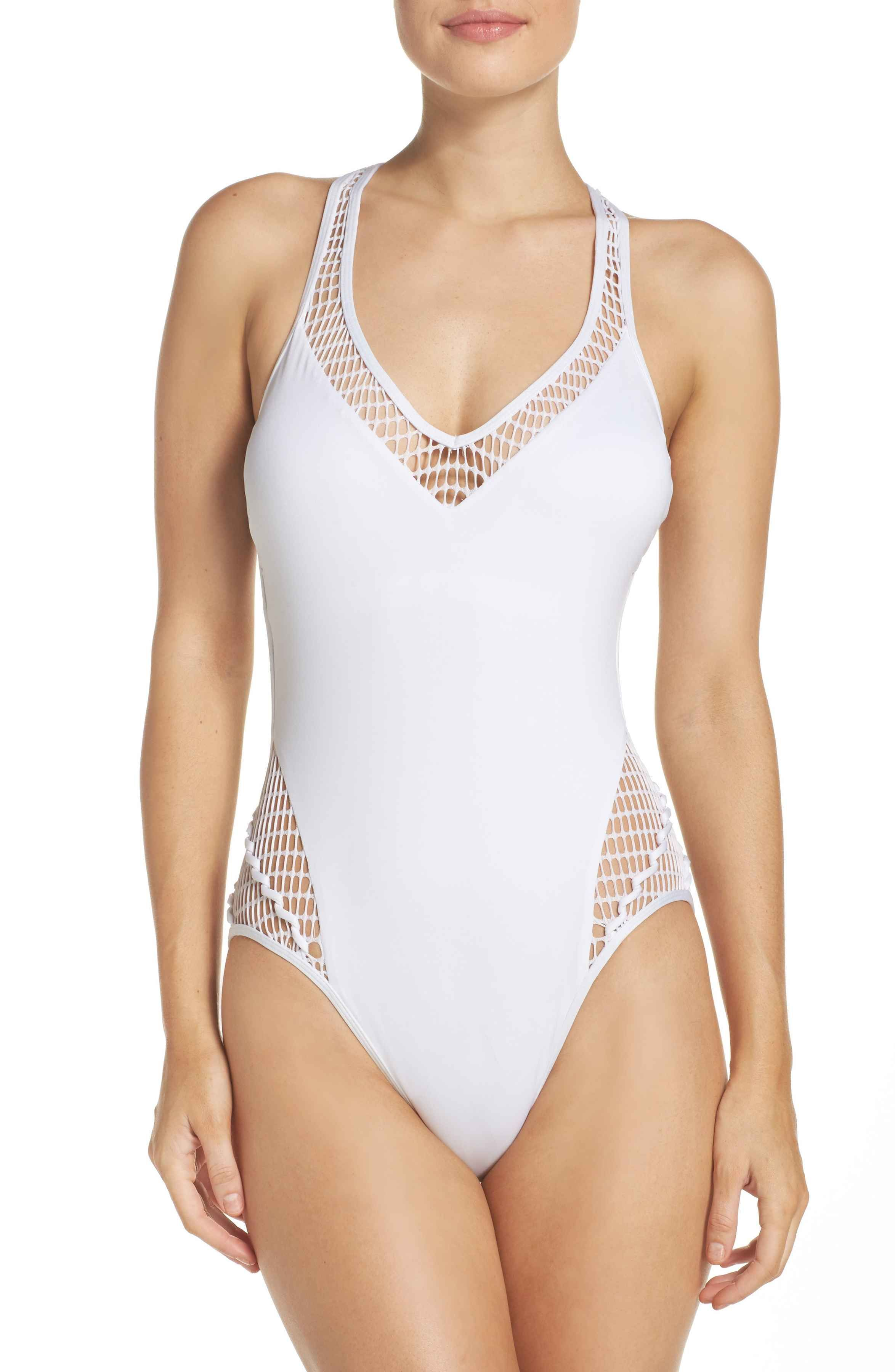 b6e3915eec Main Image - Kenneth Cole New York Wrapped in Love One-Piece Swimsuit