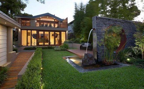 Resultado de imagen para jardines modernos para casas jardines - jardines modernos