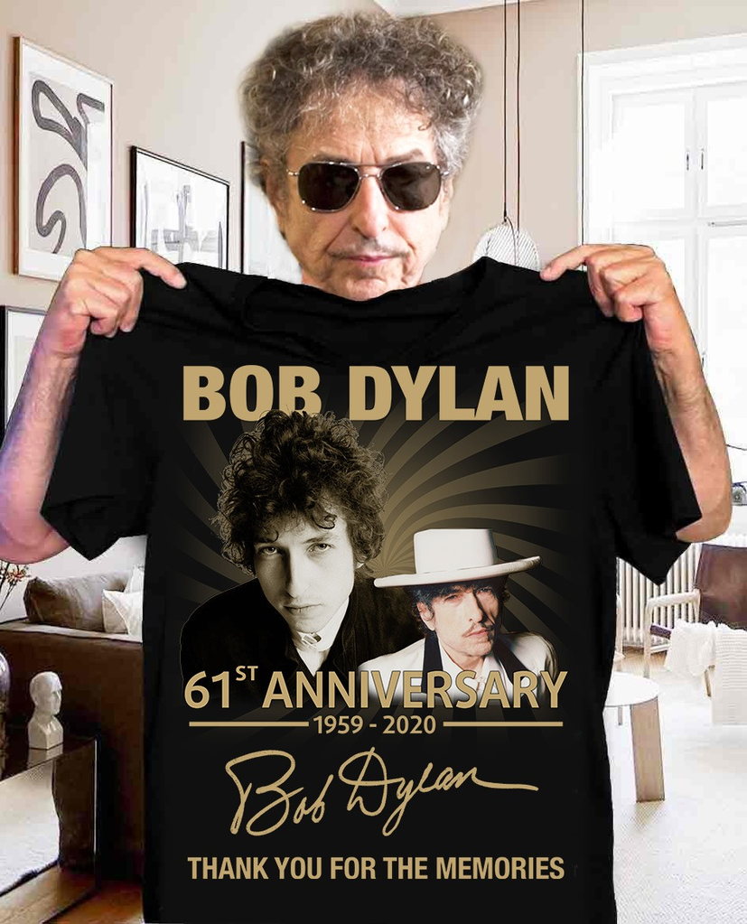 Bob Dylan 61st Anniversary 19592020 Thank You For The