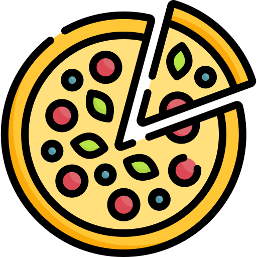 Download Now This Free Icon In Svg Psd Png Eps Format Or As Webfonts Flaticon The Largest Database Of Free Vector Icons Free Icons Pizza Icon Icon