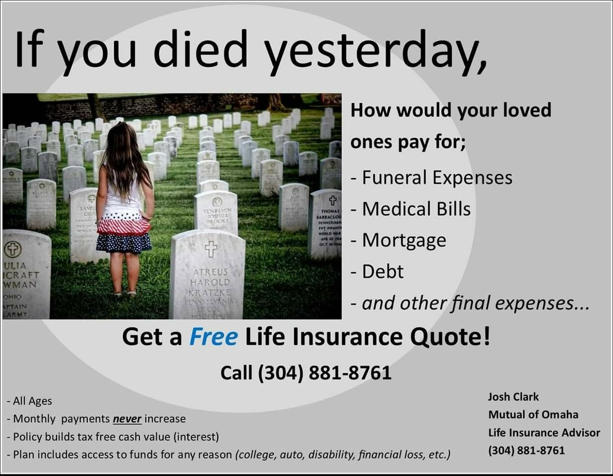 Life Insurance Quotes Available In West Virginia Ohio Michigan