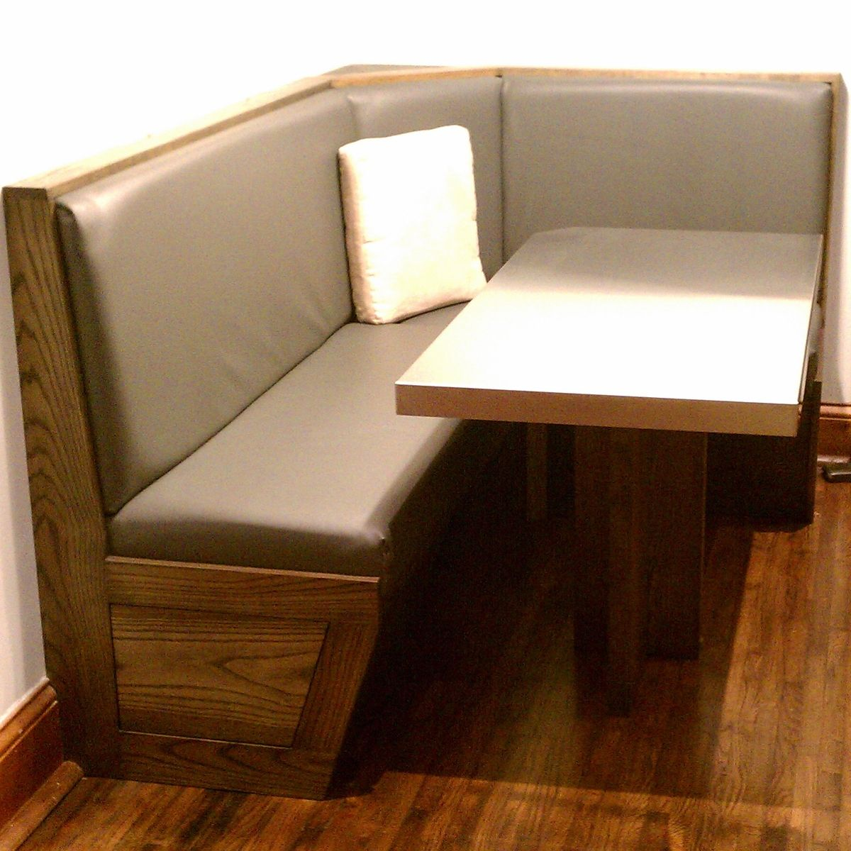 Built In Booth And Table