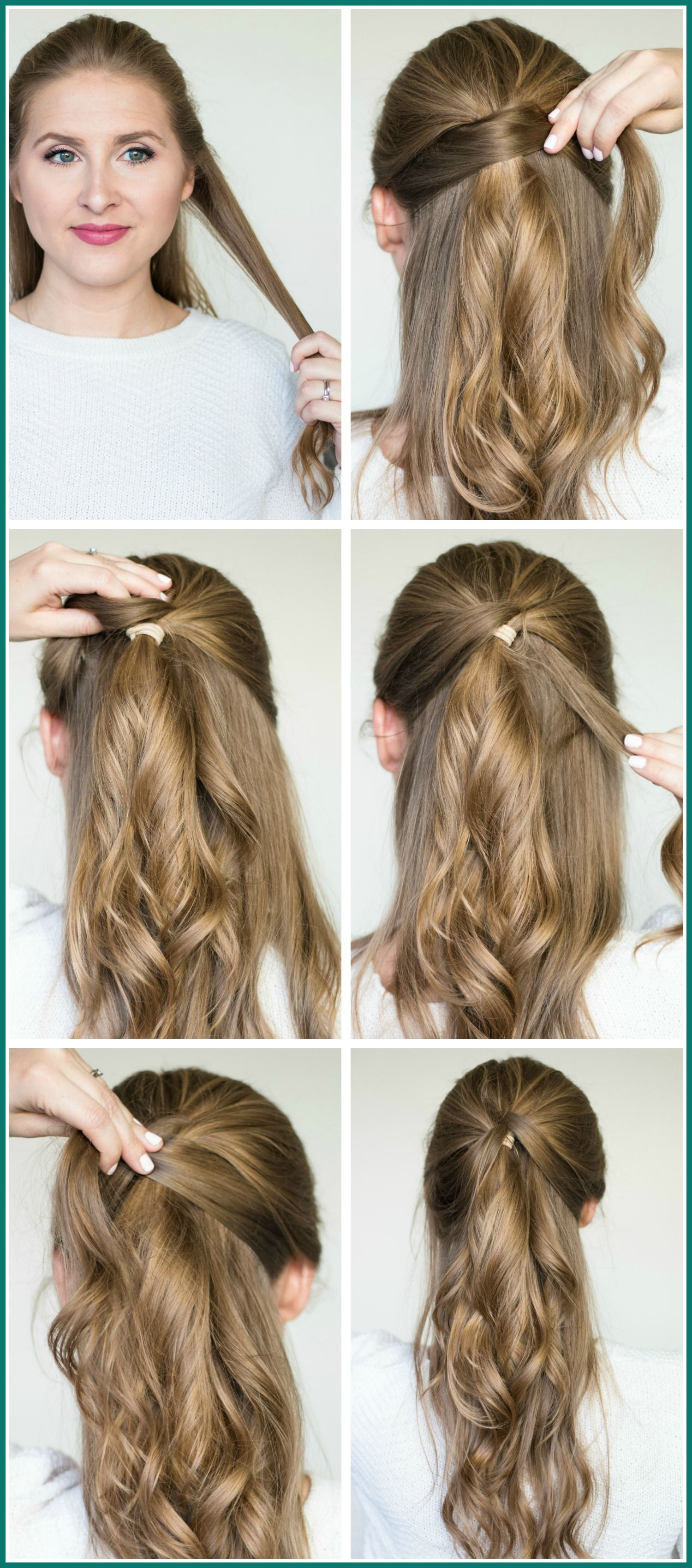 Easy Hairstyles Thin Hair Over 50 In 2020 Easy Party Hairstyles Party Hairstyles For Long Hair Easy Hairstyles For Long Hair