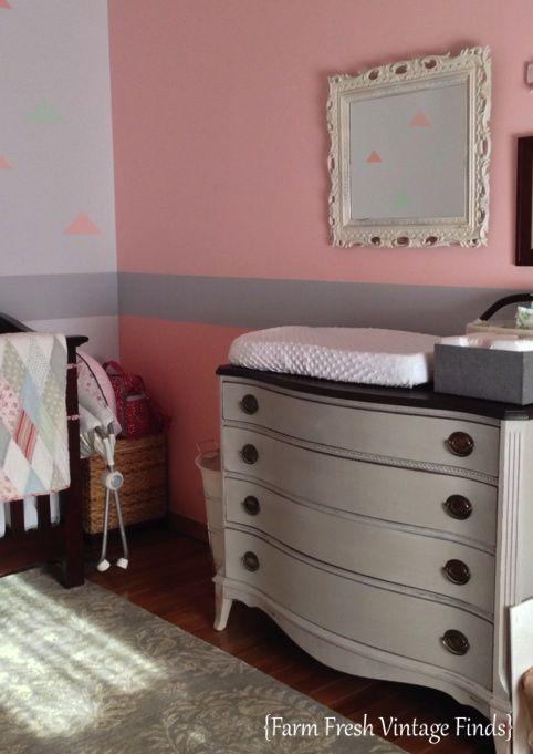 Dresser Changing Tables - Farm Fresh Vintage Finds | aww | Pinterest