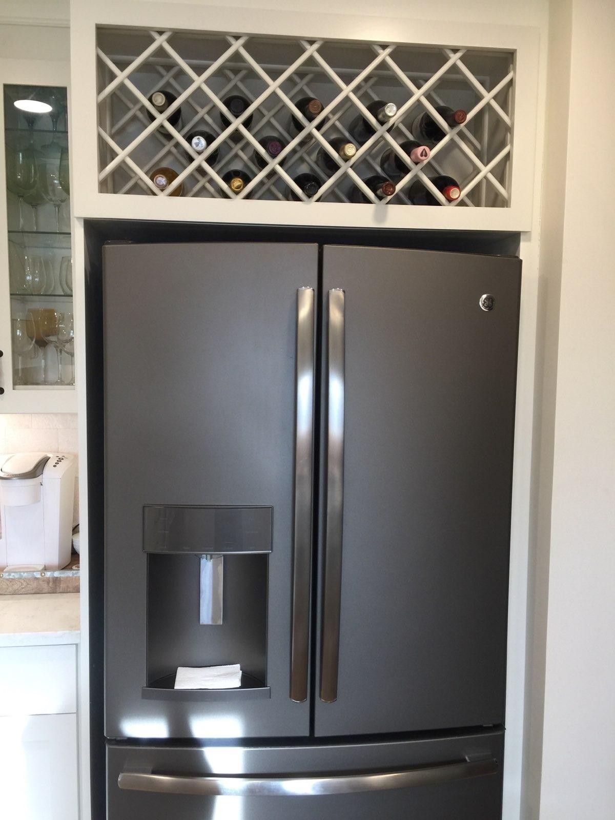 Fridge surround (With images) | Refrigerator cabinet ...