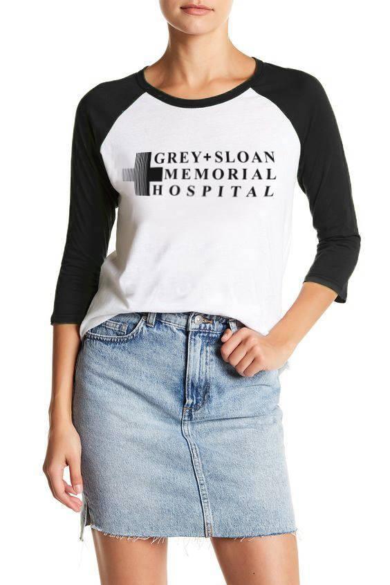 Grey Sloan Memorial Hospital Shirts Greys Anatomy Shirts Meredith
