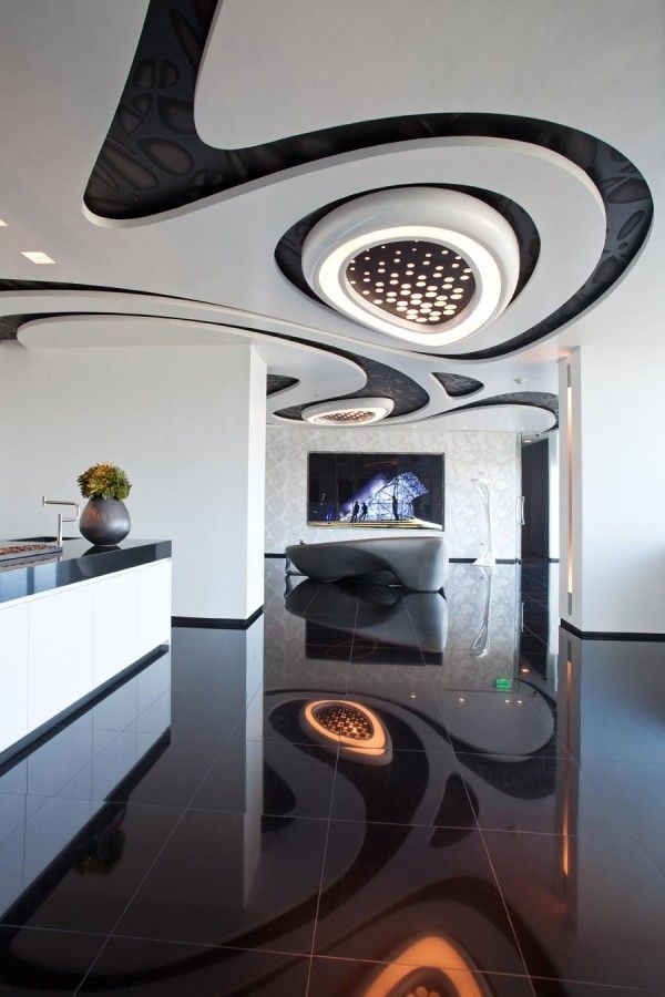 One Thousand Museum Sales Center by Zaha Hadid photo by Robin Hill c ...