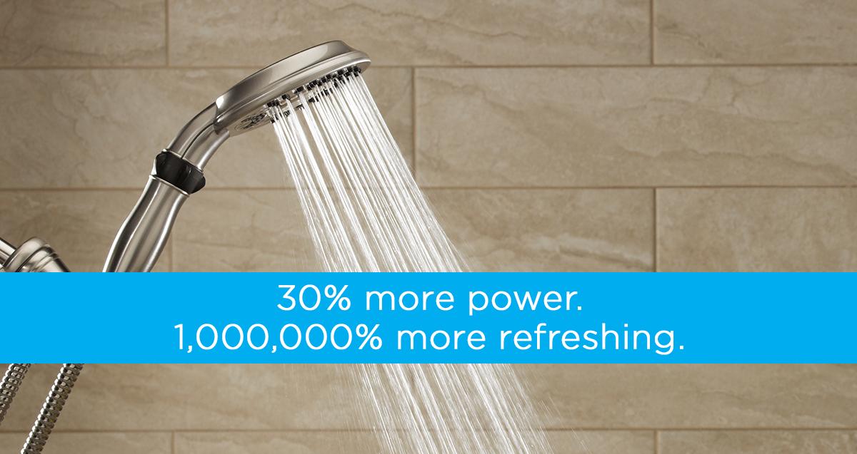 Powerful Shower Head Performance Waterpik Shower Heads Are