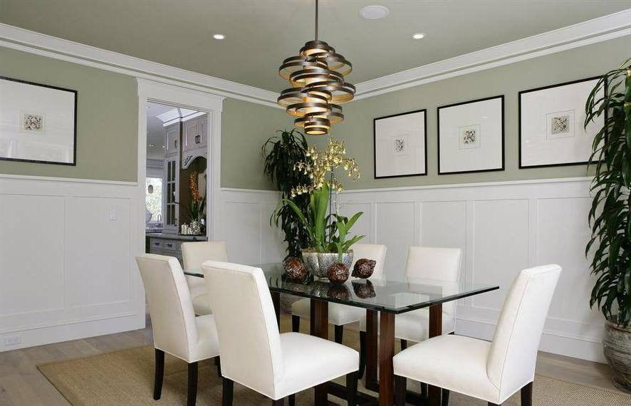beadboard wainscoting dining room design ~ http://lovelybuilding