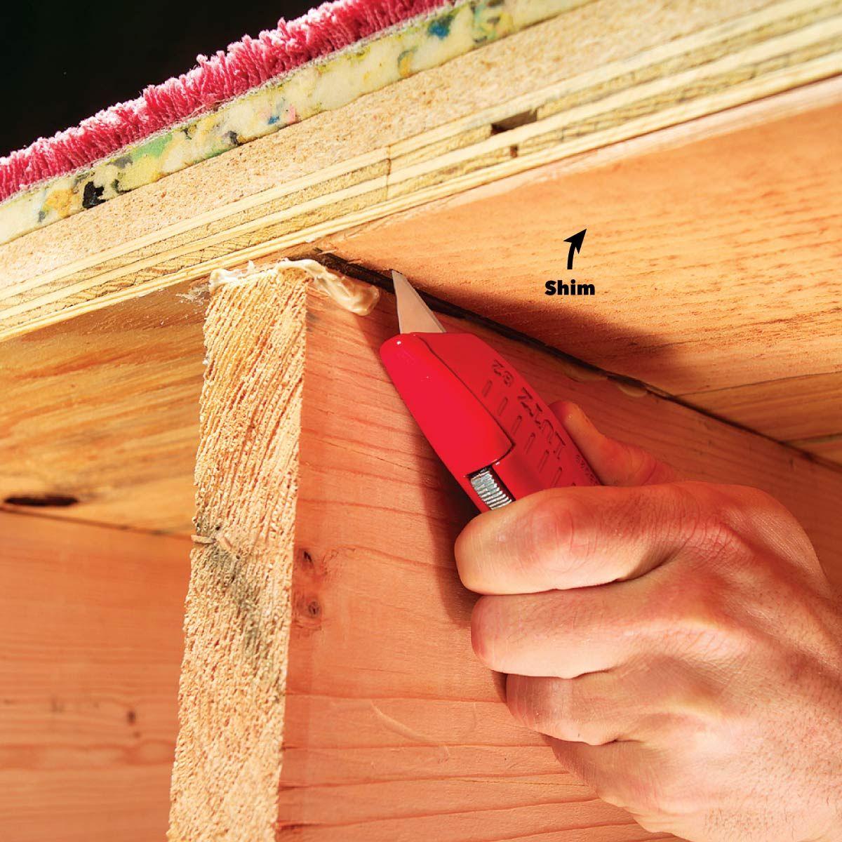 How To Fix Squeaky Floors Squeaky Floors Fix Squeaky Floors Flooring