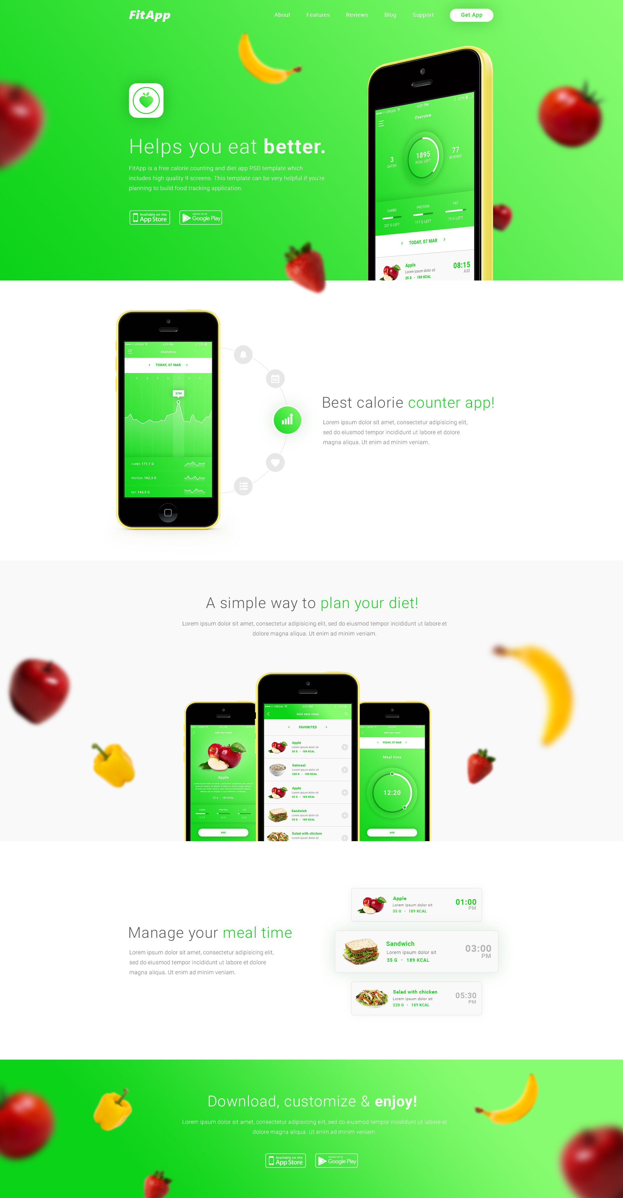 apps templates free