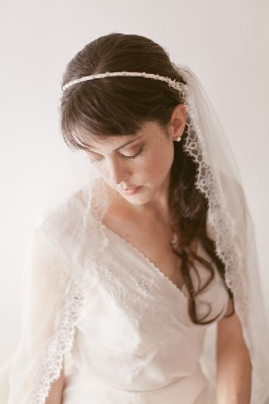 Wedding Accessories Veils THIN HEADBAND