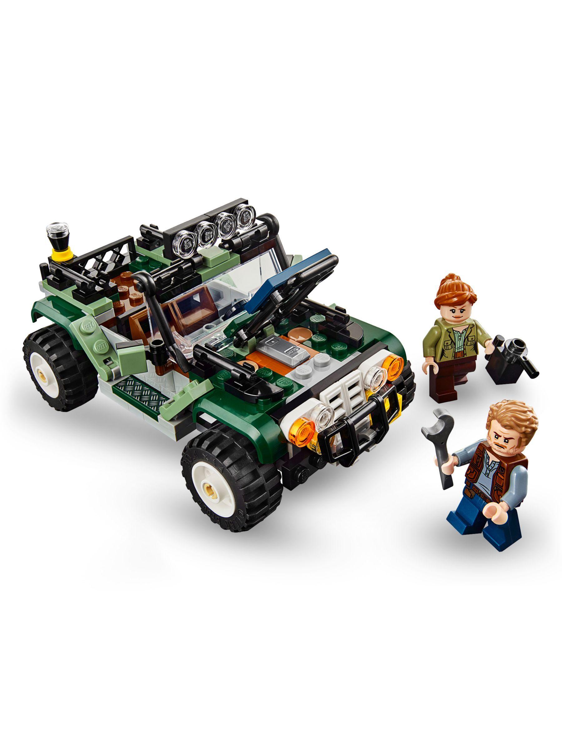 Lego Jurassic World Minifigure SINJIN  PRESCOTT with Backpack from set 75935 New