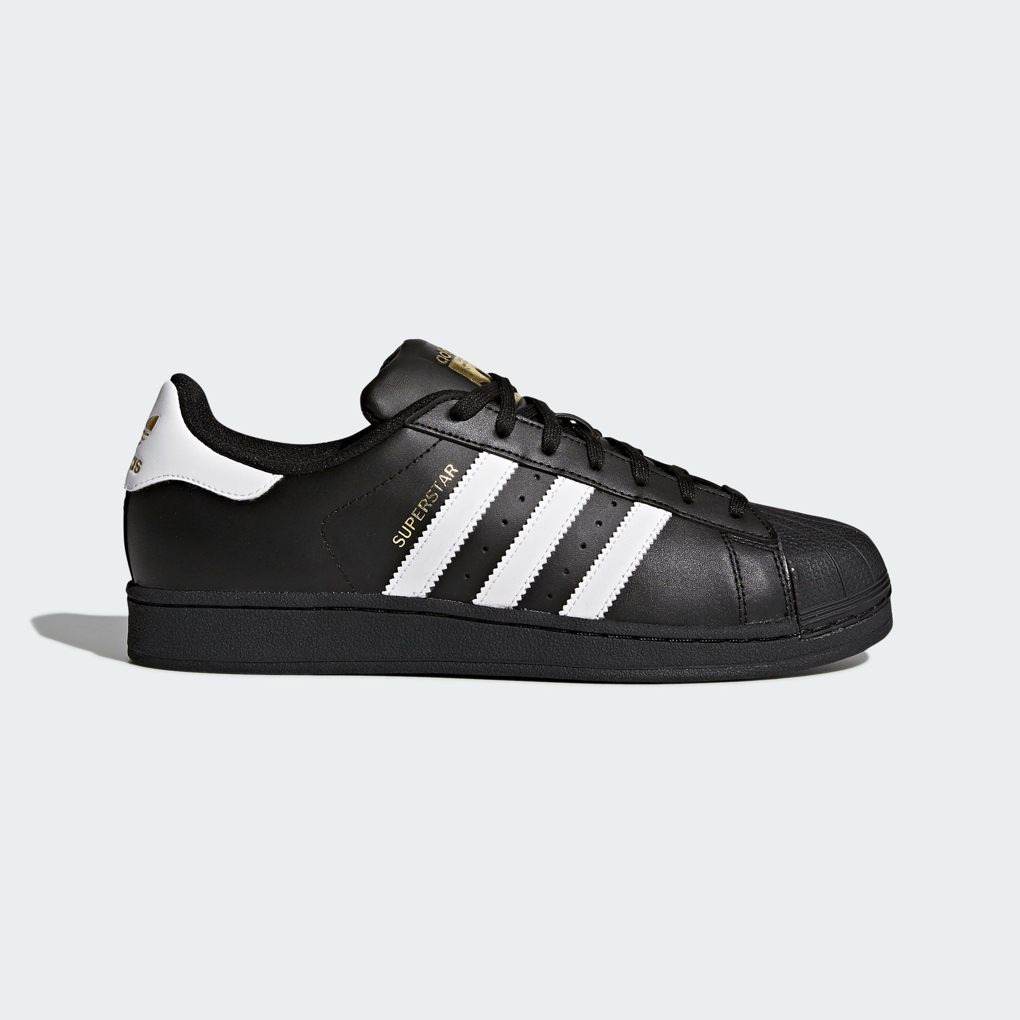 dañar ballena Satisfacer  Shop the Superstar Foundation Shoes - Black at adidas.com/us! See all the  styles and colors of S… | Adidas superstar black, Adidas shoes superstar, Adidas  superstar