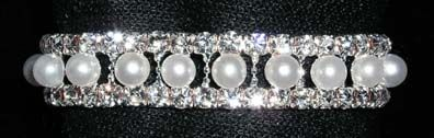 Another great prom and wedding wristlet flower base , thanks Rhinestone Jewelry Corporation