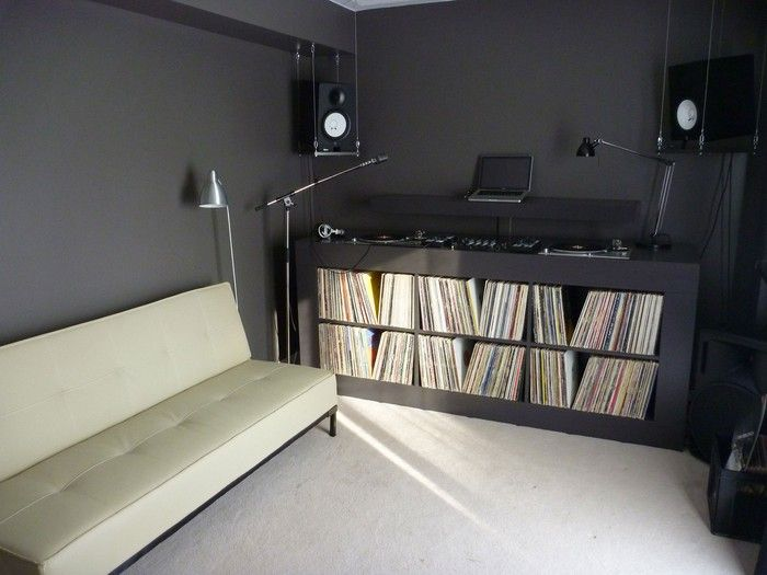 Dj Setup By Mike Z Home Ideas In 2019 Dj Setup Home