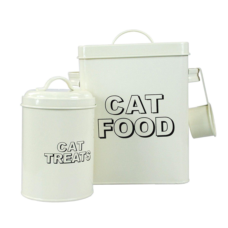 Crazygadget Classic Retro Vintage Cat Food Tin And Cat Treats