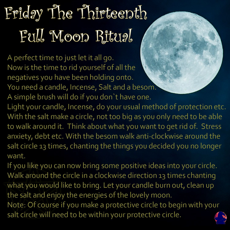 Simple Ritual For The September Full Moon