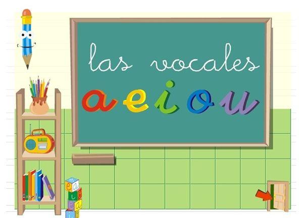 """Recursos Educativos de Educación Infantil: """"Las vocales"""""""