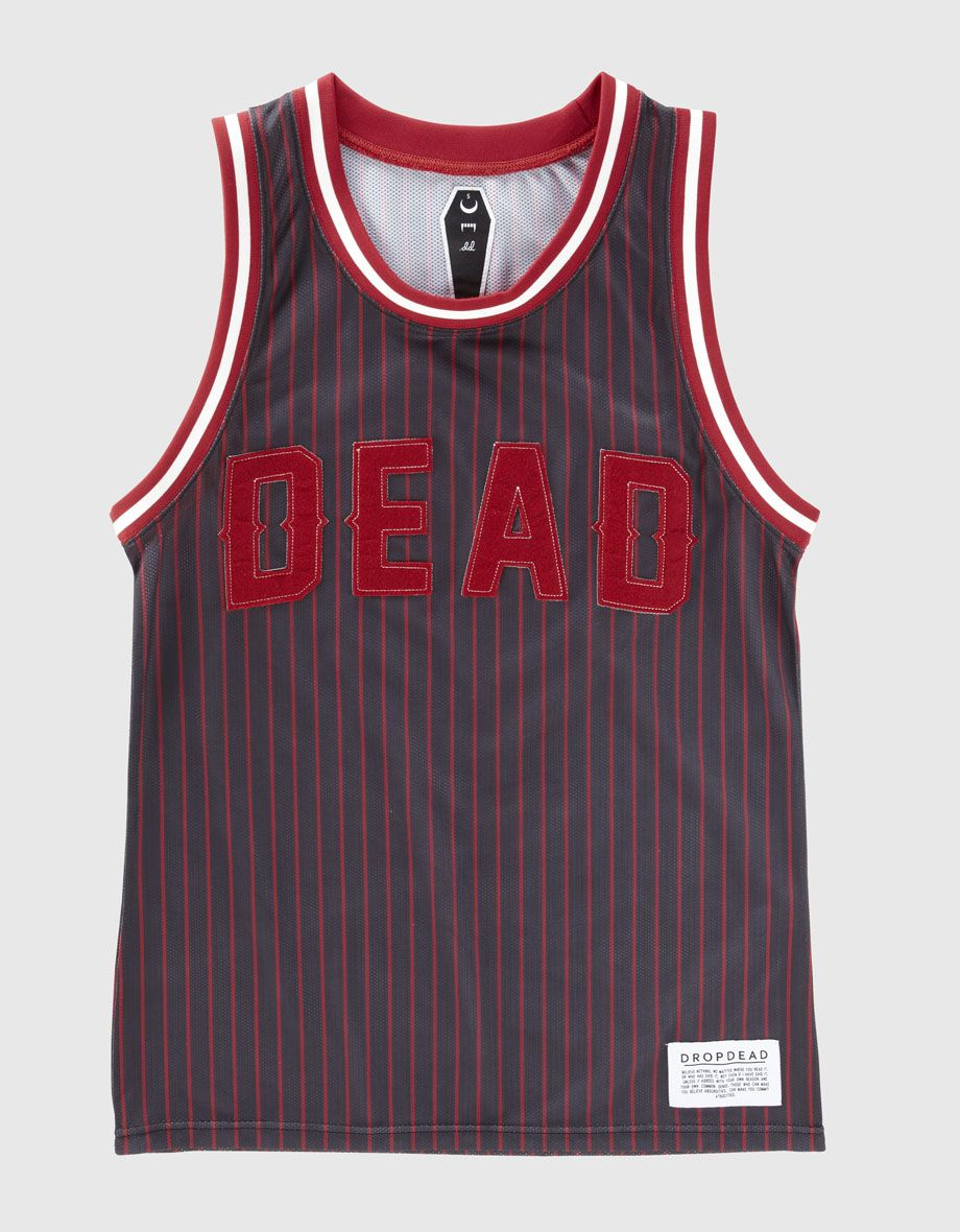 b508b02e2 Dead Basketball Jersey - Photo | WANT | Drop dead clothing ...