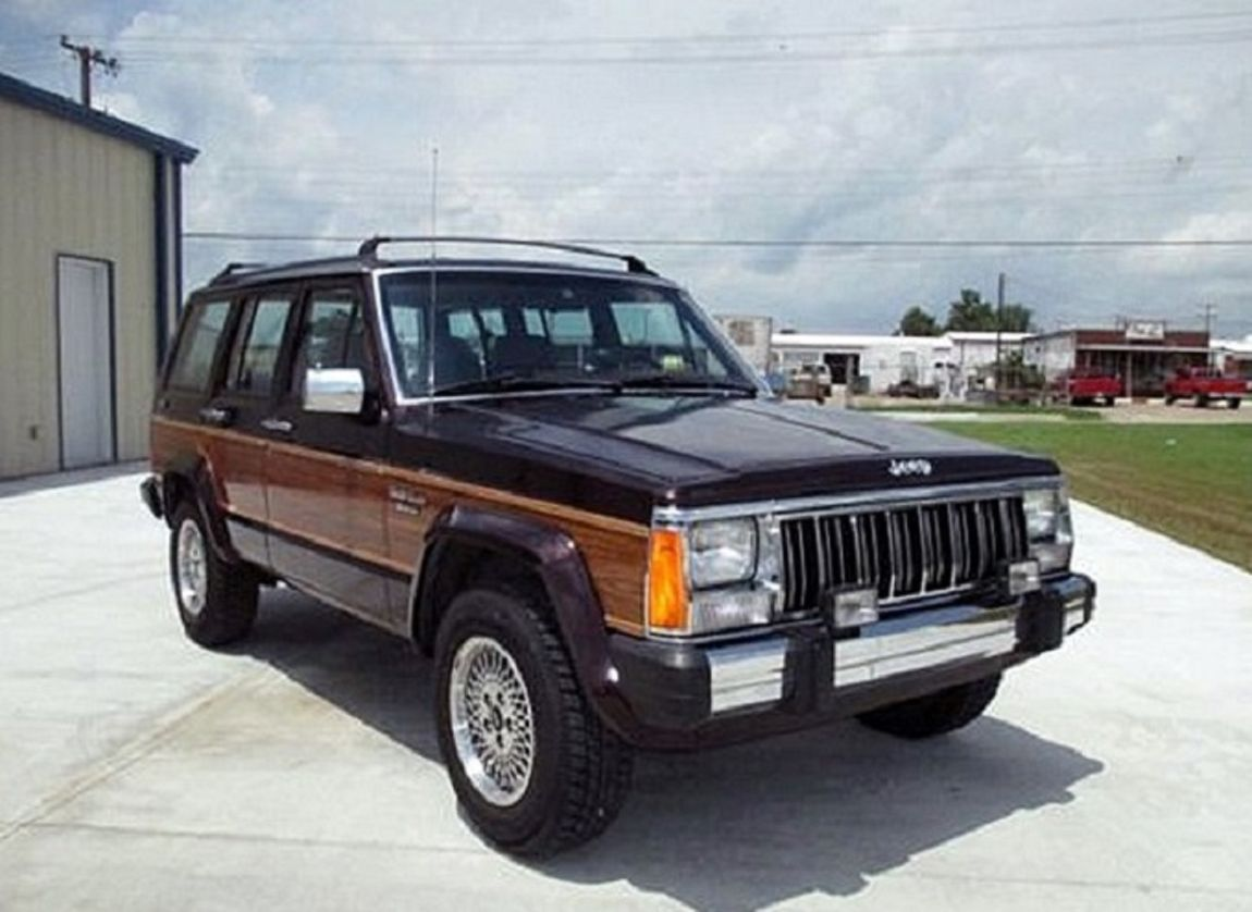 Explore Jeep Cherokee, Jeep Life, and more! - 1992_Jeep_Cherokee4Door_4.0Liter_withWoodPanel_173HP_6Cylinder