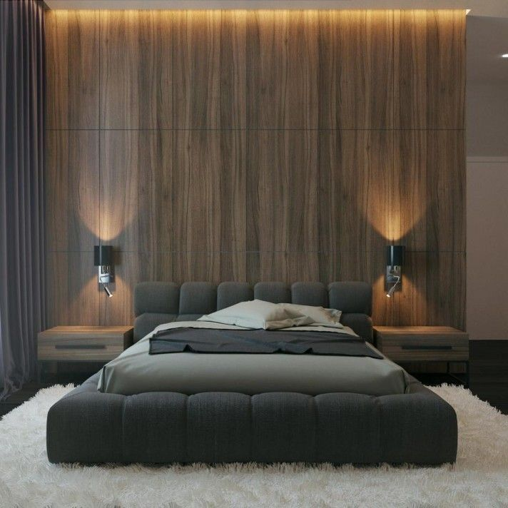 Дизайн интерьера спальни, стиль – современн… #bedroomdesignminimalist