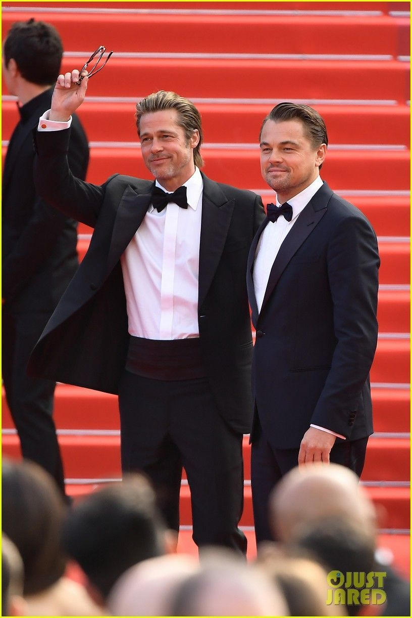 Leonardo DiCaprio, Brad Pitt & Margot Robbie Hit Cannes for 'Once Upon a Time in Hollywood' Premiere... - #Cannes #dicaprio #hollywood #leonardo #margot #premiere #robbie - #QuentinTarantino