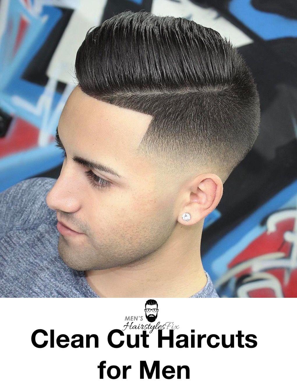 Short top haircut for men  simple regular clean cut haircuts for men  short hair men