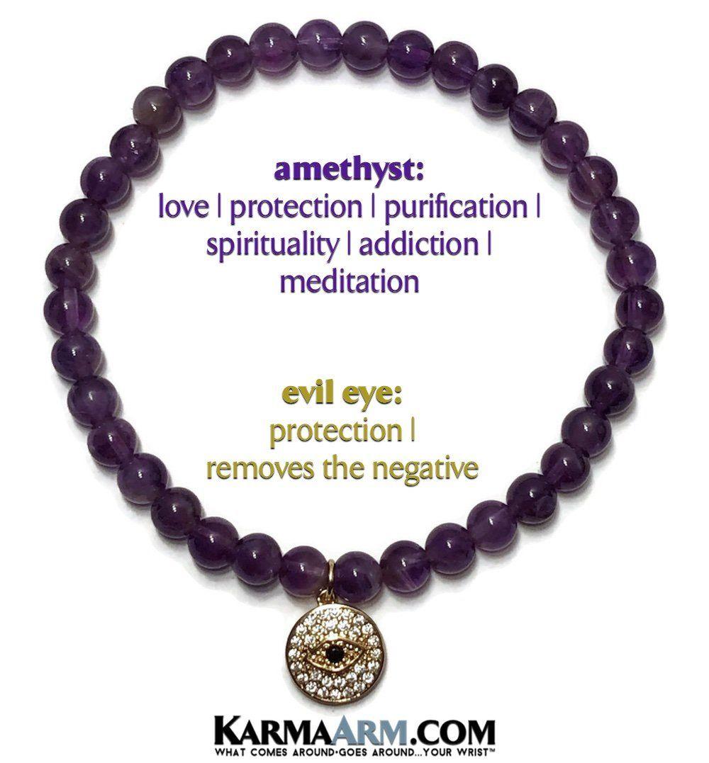 Adjustable Macrame Yoga Chakra Bracelet CZ Diamond Pave Buddha Cham Meditation Jewelry KarmaArm Buddhist Bracelet Manifest Love: Black Moonstone