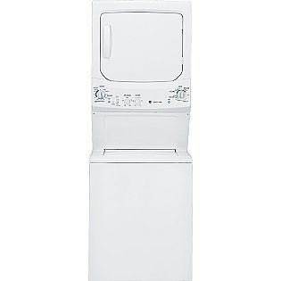 Ge 27 Electric Unitized Washer Dryer White Sears Item