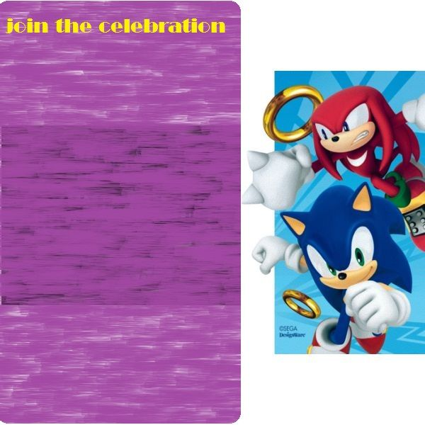 Download Free Printable Sonic The Hedgehog Baby Shower Invitation - download free baby shower invitations