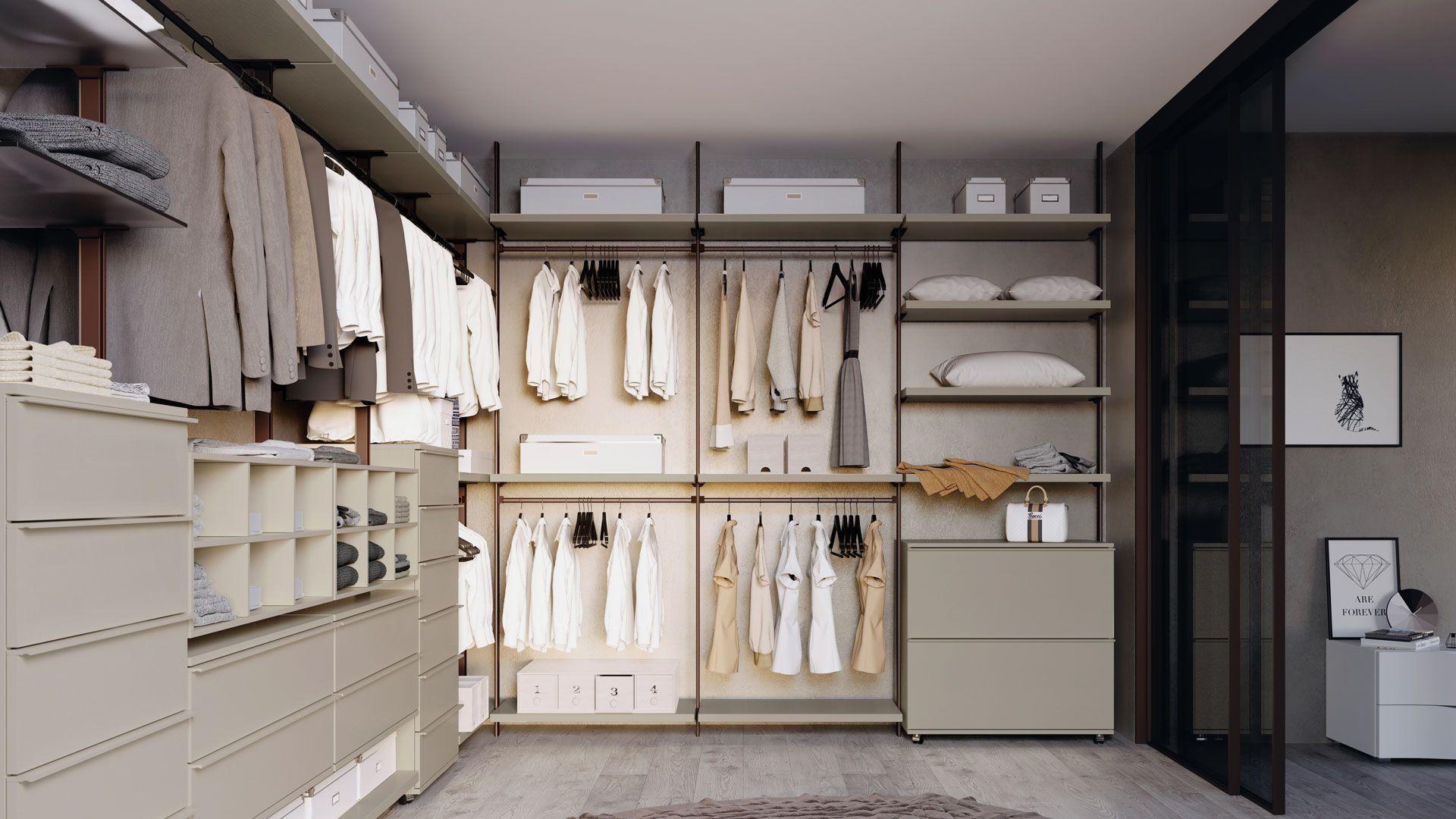 Come Organizzare La Cabina Armadio idee per la cabina armadio come organizzare una cabina