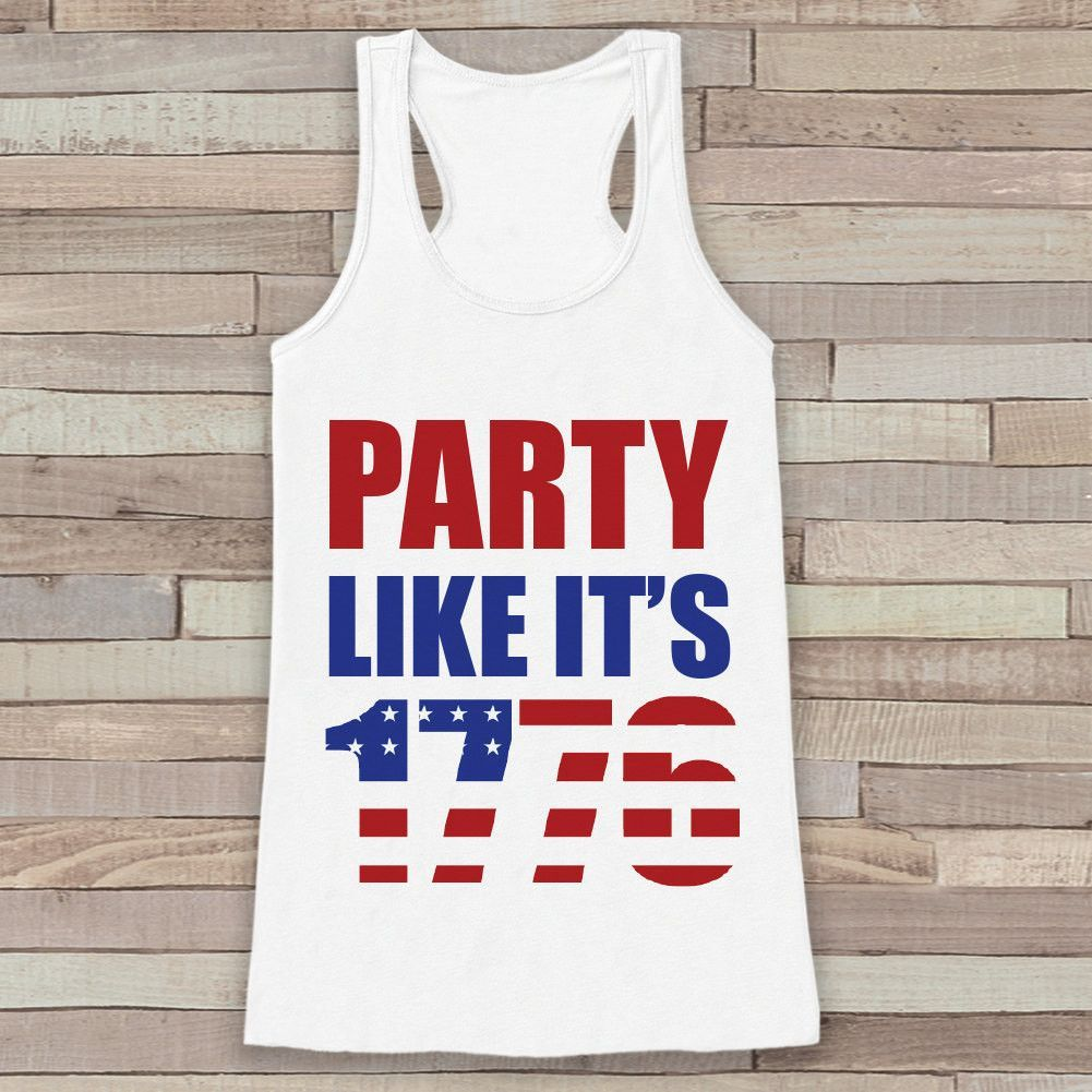 3a537d5c This fun shirt is the perfect way to celebrate 4th of July and show your  America pride! Our graphics are professionally printed directly onto the  fabric for ...