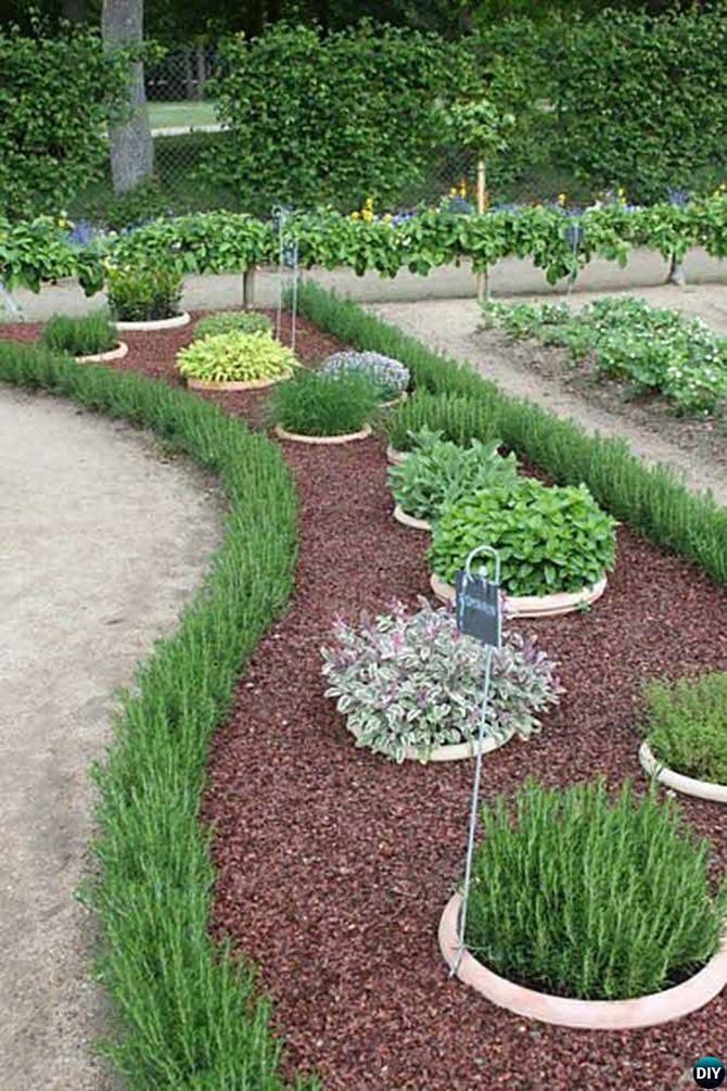 Living Tree Plant Garden Edging   20 Creative Garden Bed Edging Ideas  Projects Instructions