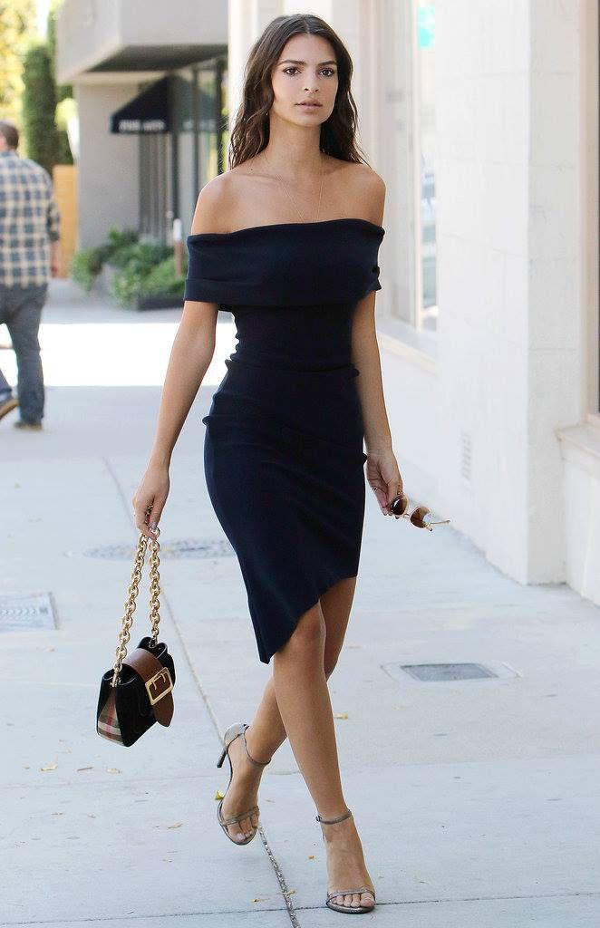 21710b9fe1a3 Glam #chic : je veux le même #look qu'Emily Ratajkowski !  www.mode-and-deco.com…