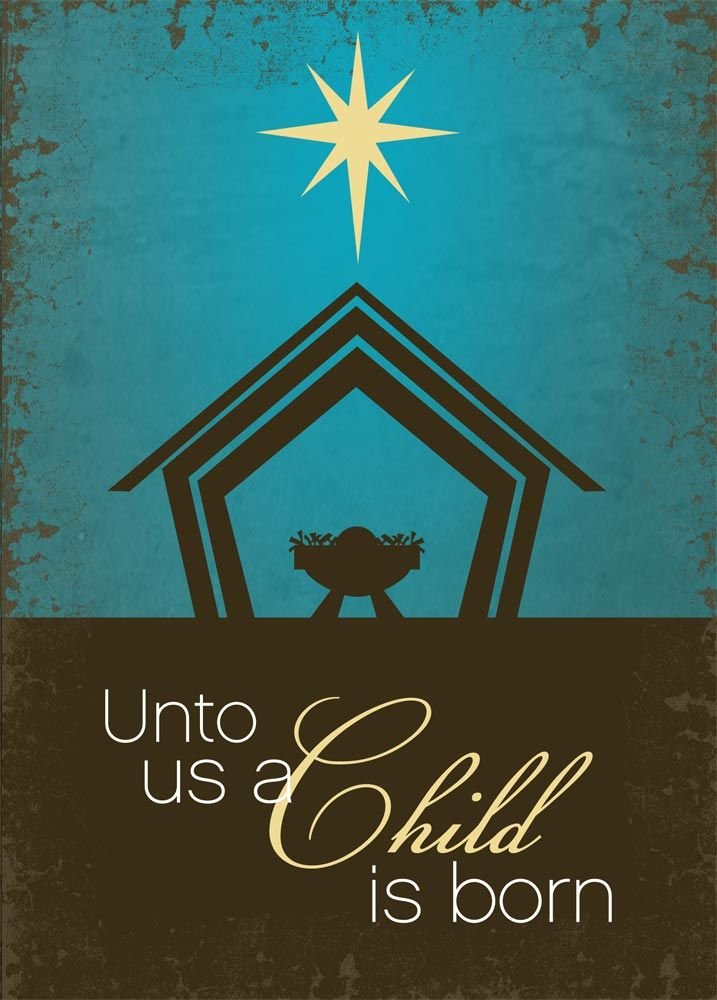 A Child is Born | Christmas | Pinterest | Christmas, Christmas Cards ...