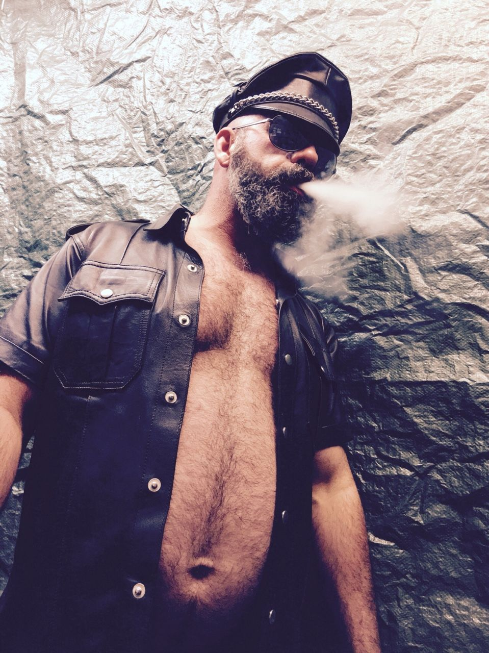 Furry Studs that would be @stogiebearpdx | furry studs | leather men