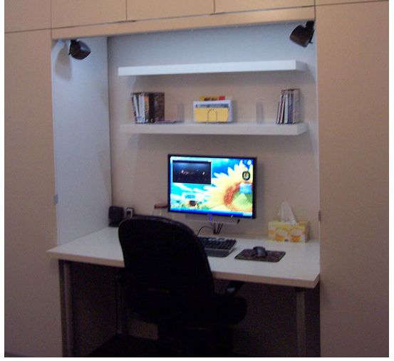 M s de 25 ideas incre bles sobre oficina de armario en - Armario escritorio ikea ...