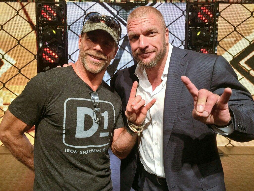 Pin De Arantza En Shawn: Shawn Michaels And Triple H