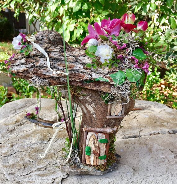 Fresh Start Fairy House Swinging Fairy House By SproutedDreams