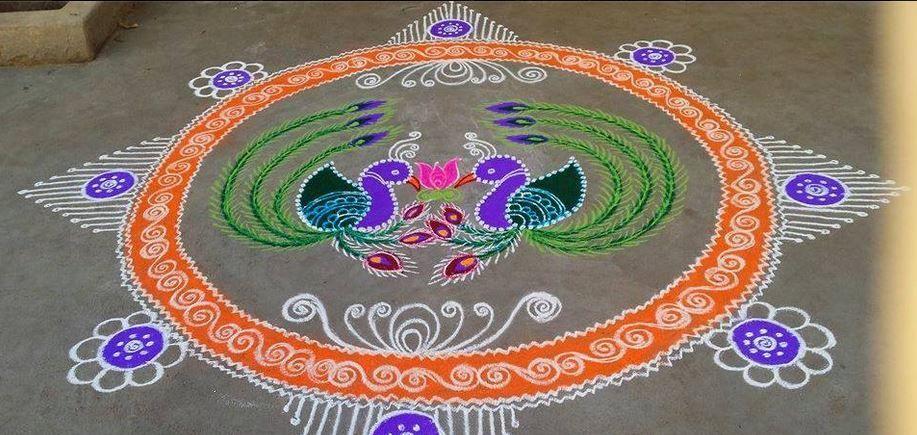 Kolam Rangoli Designs For Ugadi Pinki Rangoli Collection