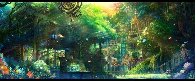 壮大なファンタジーな世界観壁紙イラスト画像集まとめ2次rpg