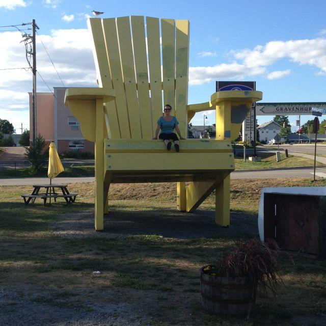 In The Big Giant Muskoka Chair
