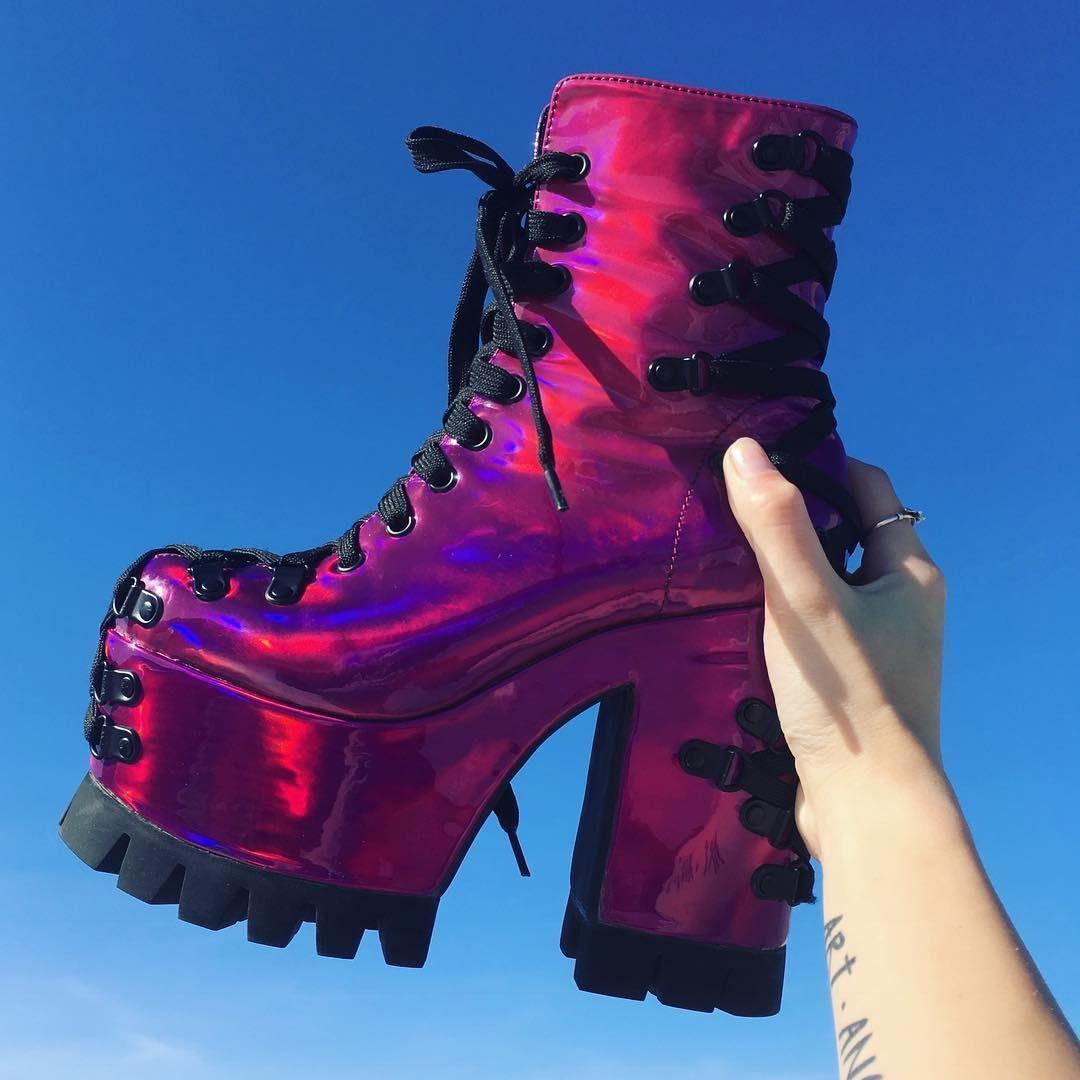 30d5a73b27e Club Exx - Electric Dreams Corset Boots -  fashion  alternative  boots