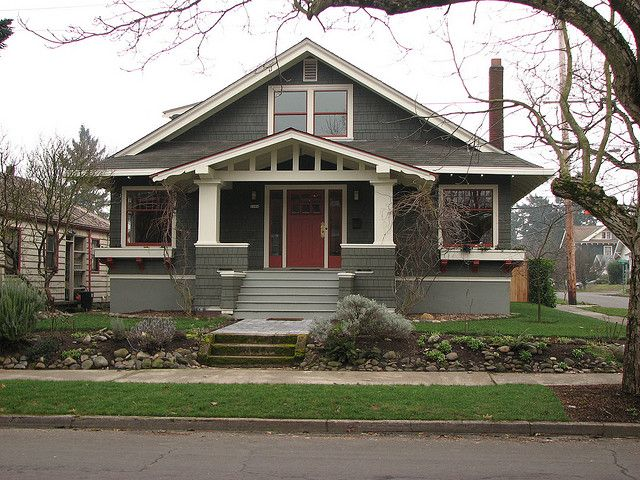 Inspiration bungalow craftsman style craftsman and bungalow for Craftsman style architects