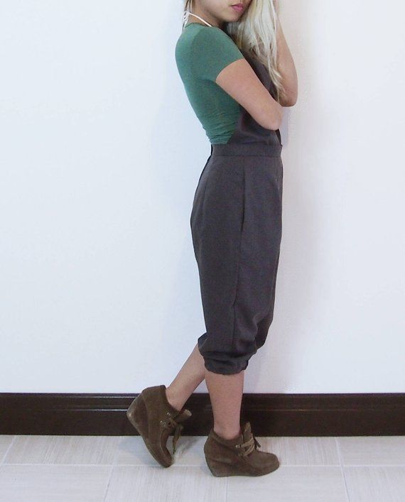 Backless Dungarees / Overalls / Pantsuit / Jumper